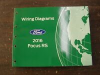 OEM Ford 2016 Focus RS Shop Manual Wiring Diagram Book nos