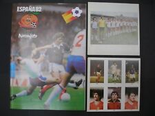 CO OP CWS-FULL SET (305 CARDS IN UNCUT SHEETS)+ EMPTY ALBUM - FOOTBALL ESPANA 82