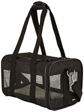 New listing AmazonBasics Soft-Sided Mesh Pet Travel Carrier, Small (14 x 9 x 9 Inches), Blac