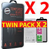 For New iPhone XR XS Max XS X, 2 X PACK Screen Protector Gorilla Tempered Glass