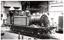 R256733 377S. Brighton Works. Pamlin Prints. Postcard. Locomotive