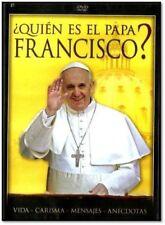 Quien Es El Papa Francisco DVD NEW Vida - Carisma - Mensajes - Anecdotas PG-13