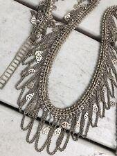 Vintage Silver Metal Hip Belt Drippy Chains Fantastic