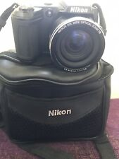 Nikon COOLPIX L120 14.1MP Digital Camera - Black Excellent Condition Used Twice.