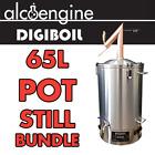 65L DigiBoil Still Kit with Copper Pot Still and Lid (220V) Brewing Distilling