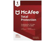 McAfee Total Protection 2018 - 1 Device / 1 Year