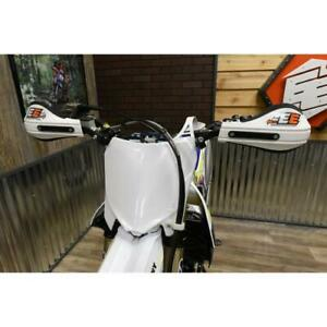 Enduro Engineering Plastic Number Plate White with Odometer Mount Kit for SHERCO