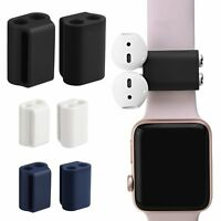 Durable Soft Strap Silicone Case Anti-lost Protective Holder for AirPod +EarPods