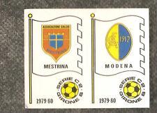 Figurina Calciatori Panini 1979-80! N.549! Scudetti Mestrina/Modena! Nuova!!