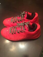 Nike Jordan men's shoes RED size 10 used condition