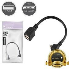 Fosmon Micro USB OTG to USB 2.0 Adapter Cable Cord For Samsung Galaxy S7/S7 Edge