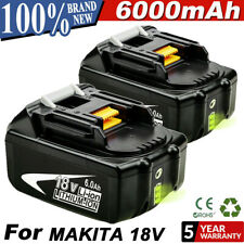2Pack 18V 6.0Ah Lithium Ion Battery Lxt For Makita Bl1860 Bl1830 Us Latest Pack