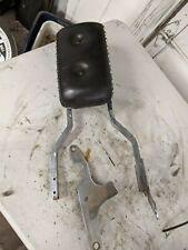 Harley Chrome Sissy Bar Backrest Ironhead Sportster Shovelhead Chopper Bobber