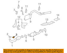 GM OEM Exhaust-Front Pipe Insulator 15860245