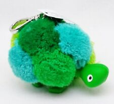 1 Bath & Body Works GREEN TURTLE POM Pocketbac Holder Sanitizer Carry Case Clip