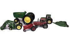 John Deere Ertl Tractors Farm Equipment Implements Lot Of 6 Pieces Toys
