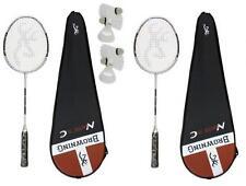 2 x Browning Nanotec CTi 75 Badminton Rackets + 6 Carlton Shuttles RRP £510