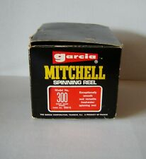 Vintage Garcia Mitchell Spinning Reel 300 With Box