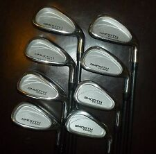INTEGRA SMOOTH TEMPO  IRON SET 3-W GRAPH REGULAR GOOD CONDITION #8131