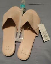 Andeawy  Slip On Mule Flats Blush Shoes Size 10