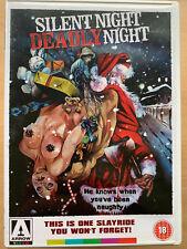 Silent Night Deadly Night 1984 Santa Slasher Horror Arrow Video DVD w/ Booklet