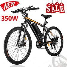 "350W 26"" Electric Bike Mountain Bicycle EBike SHIMANO 21 Speed 36V Li-Battery >>"