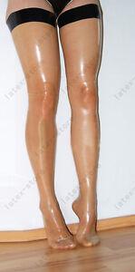 467 Latex Rubber Gummi Stocking thigh-highs socks customized sexy 0.4mm clothing