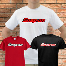 SNAP-ON tools t-shirt mechanics auto parts professional racing nascar #1