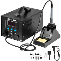 YIHUA 948 Soldering Iron Vacuum Suction tin Desoldering 2-in-1 Rework Station