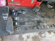 75-80 DODGE ADVENTURER SE PICKUP TRUCK CLUB CAB BLACK SEAT BELTS W/ RETRACTORS