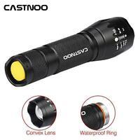 Tactique CREE XM-L T6 Zoomable LED lampe de poche 18650 Batterie étanche Lamp*AH