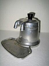 CAFFETTIERA OMG  MADE ITALY MIGNON 2 TAZZE  in Alluminio - ANNI '50 - VINTAGE