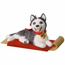 Hallmark 2017 Puppy Love Series Siberian Husky Ornament
