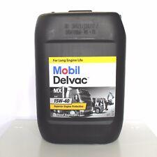 MOBIL DELVAC MX 15W40 DA 20 LITRI OLIO MOTORE DIESEL CAMION FURGONE TRATTORE