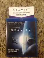 Gravity (Blu-ray Disc, 2013,2-Disc set)Authentic US Release