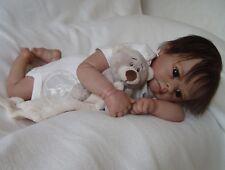 Reborn Baby reallife baby lebensechte Babypuppe *Mareen* von Nadines Babys
