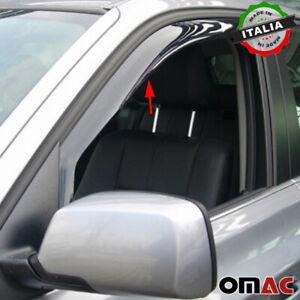 Window Visor Vent Sun Shade Rain Guard 2pcs Fits BMW X3 E83 2004-2010