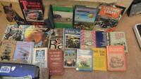 MECCANO  22 Books on Transport, Horses, Buses, Lorrys etc