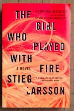 The Girl Who Played with Fire by Stieg Larsson Paperback