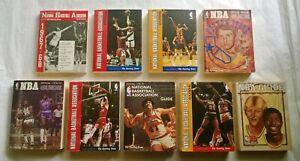 (9) NBA National Basketball Assoc. Guide 1967-68 to 1980-81 WILT to BIRD / MAGIC