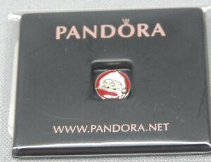 Authentic Pandora Petite Locket Jolly Santa Charm/Bead Silver 925 ALE 792168ENMX
