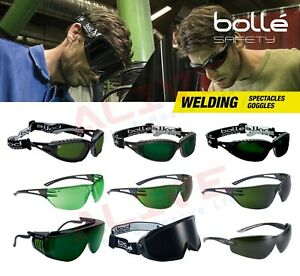 Bolle Welding Safety Glasses Spectacles Goggles for grinding brazing oxy-cutting