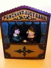 TIRELIRE MONEY BOX MECHANICAL BANK COIN FONTE PUNCHAND JUDY BANK VINTAGE 1930