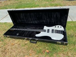 1990 Kubicki 4 String Bass Pearl White w/ Fender Custom Shop Stamp