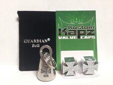 KK-GB   IRON CROSS Guardian® Bell & Kustom Kapz Harley Accessory Valve cap HD 1