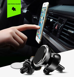 Universal Rotation Car Magnetic Mount Air Vent Cell Phone Holder.iPhone, Samsung