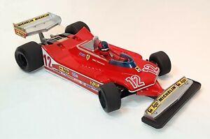 Fenix 1/10 Ferrari T4 clear Tamiya F104 F103 formula 1 F1 formula1 body