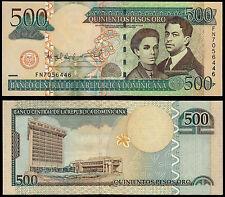 República Dominicana 500 pesos oro (P179a) 2006 UNC