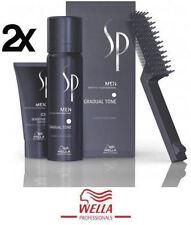 2 X Pigment Mousse Espuma Men CastaÑo BrowN 60ML + Champu Shampoo 30ML Wella SP