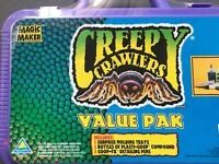 Rare 1996 Creepy Crawlers Value Pack Vintage Unopened Still Sealed New Briefcase